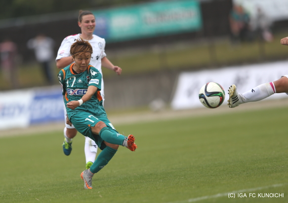 伊賀FCくノ一 杉田亜未選手