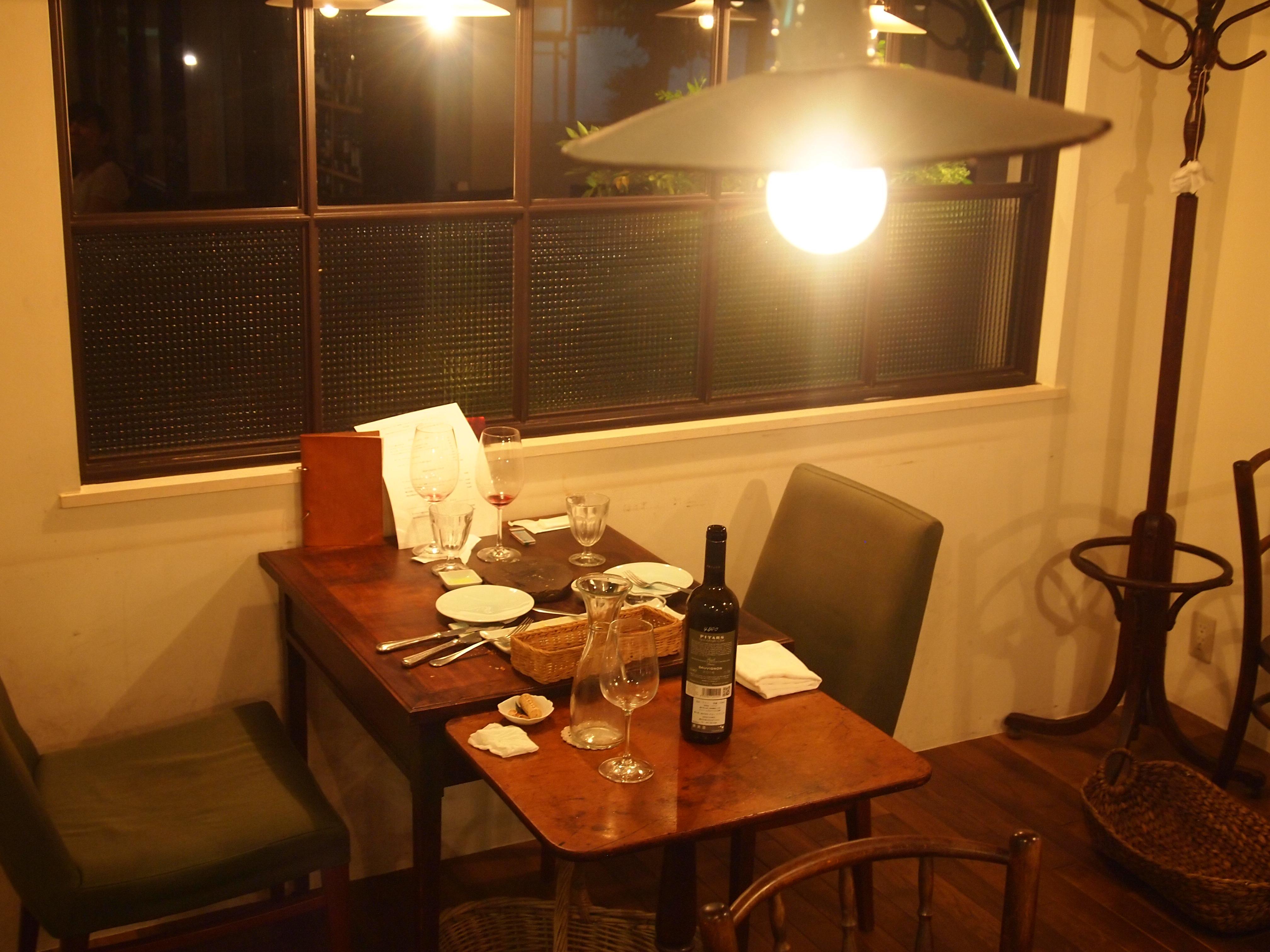 『ターボラカルダオオノ』店内。温かい雰囲気と本格イタリアン。