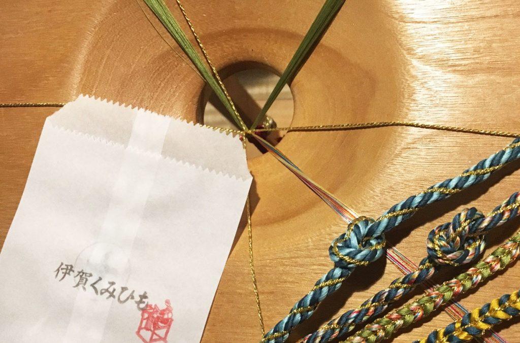 手織りの伊賀の組紐