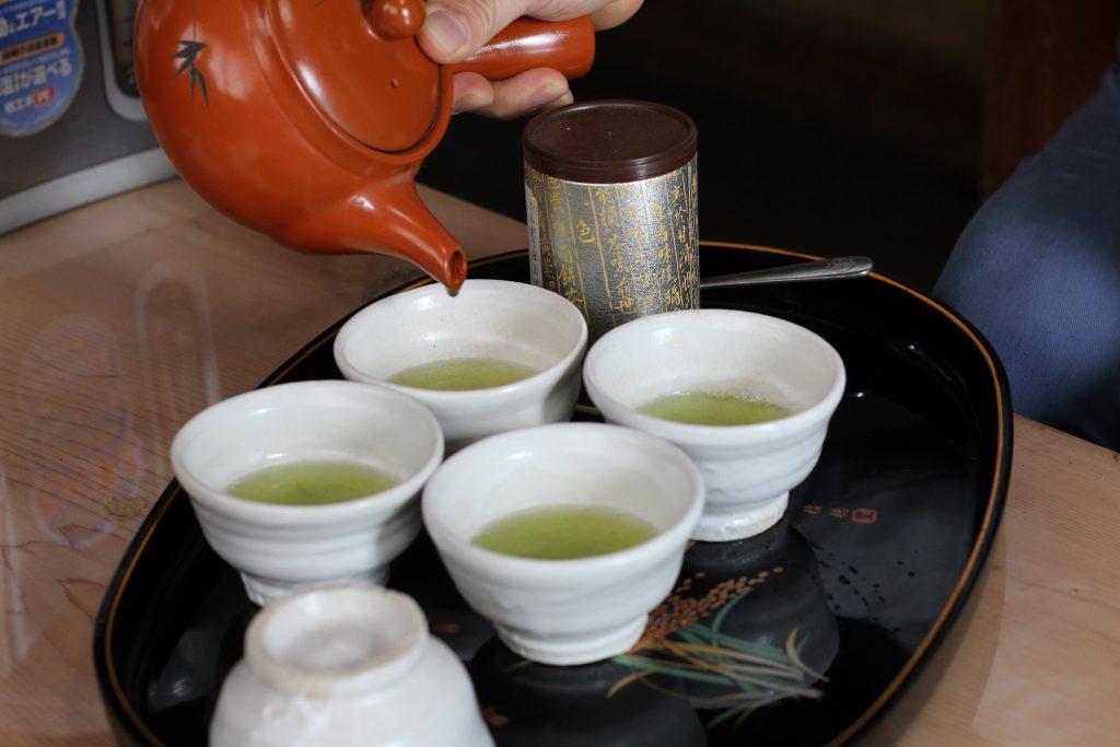 喜多製茶 お茶いれ