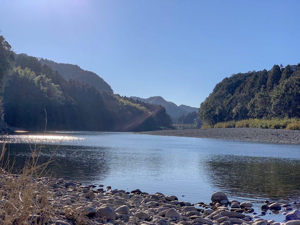 喜多製茶 宮川の風景