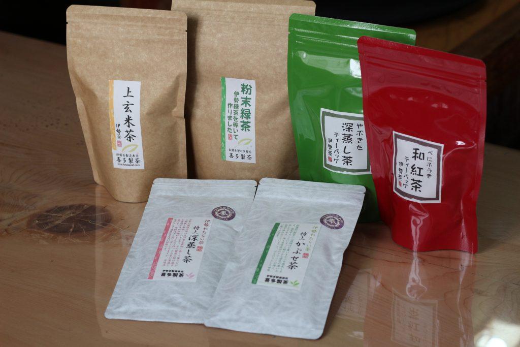 喜多製茶 お茶商品