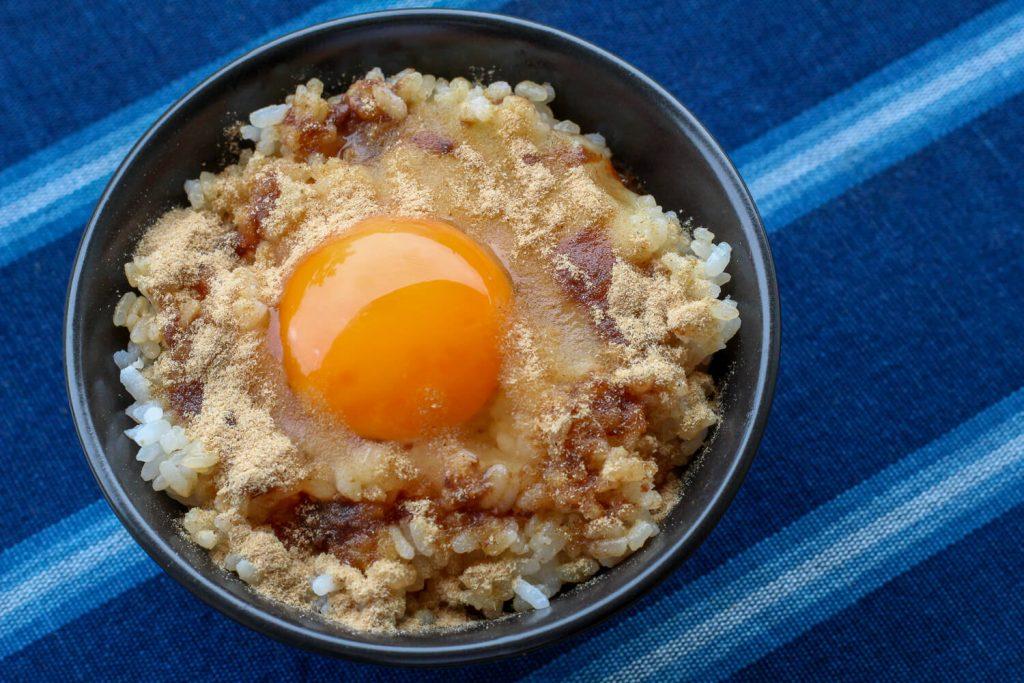 菰野ばんこ 卵かけご飯3