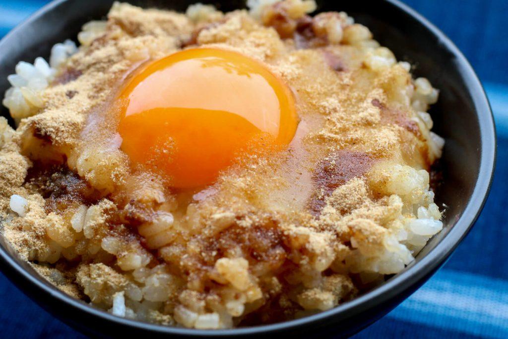 菰野ばんこ 卵かけご飯5