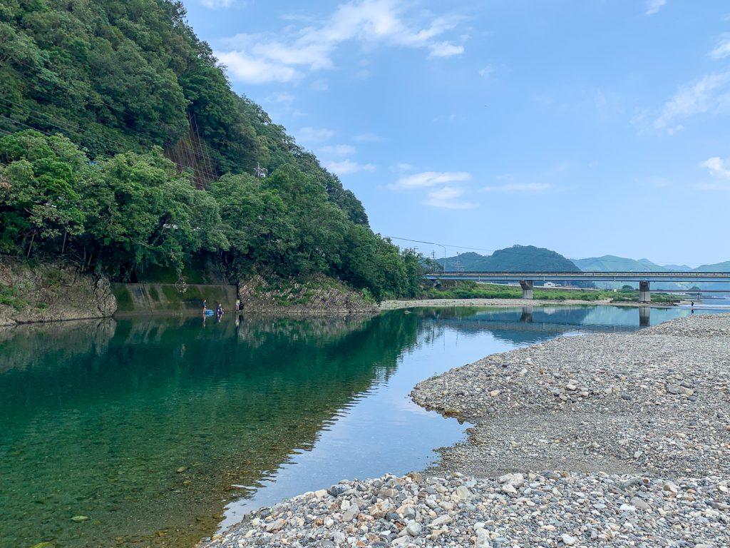 銚子川橋 まいこみ淵付近1