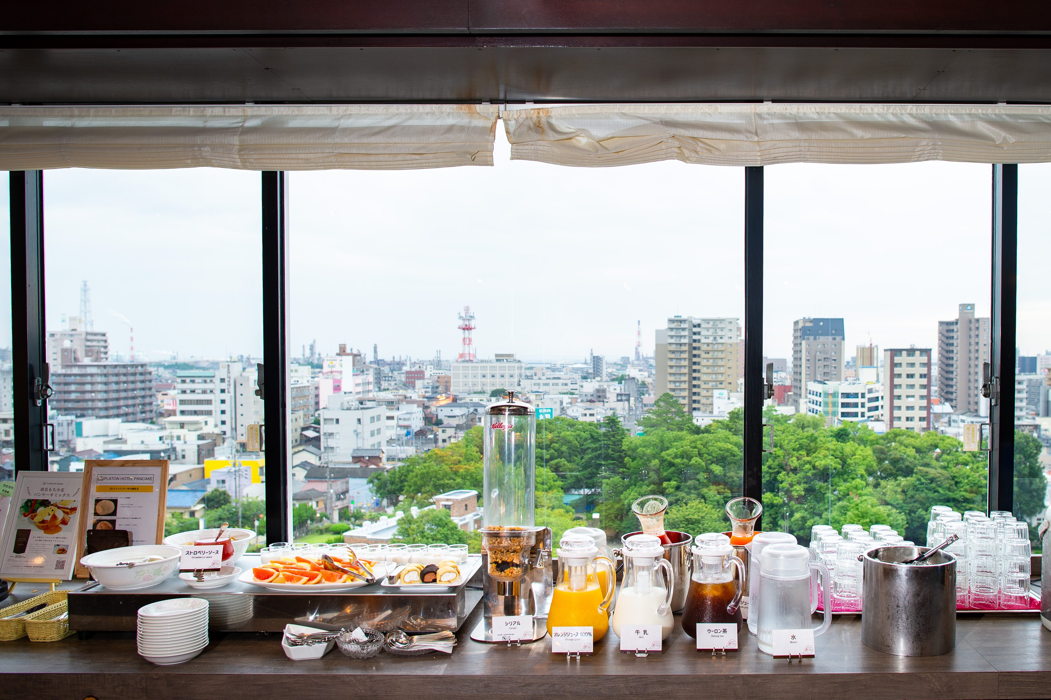 プラトンホテル四日市 朝食ビュッフェ みえの朝ごはん 5