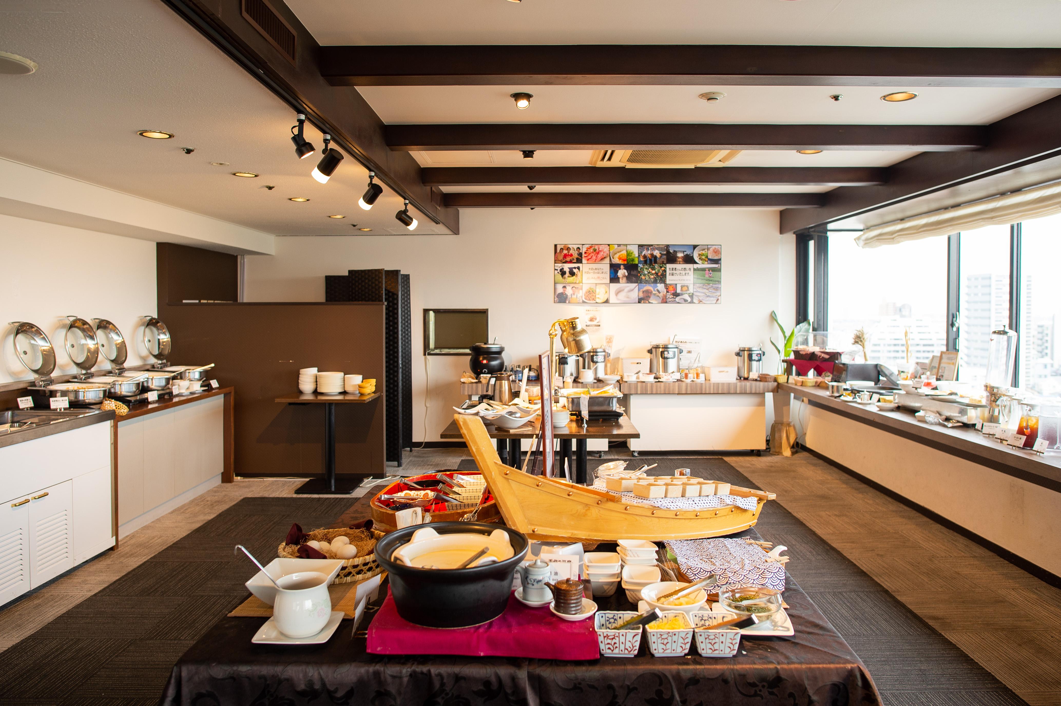 プラトンホテル四日市 朝食ビュッフェ みえの朝ごはん