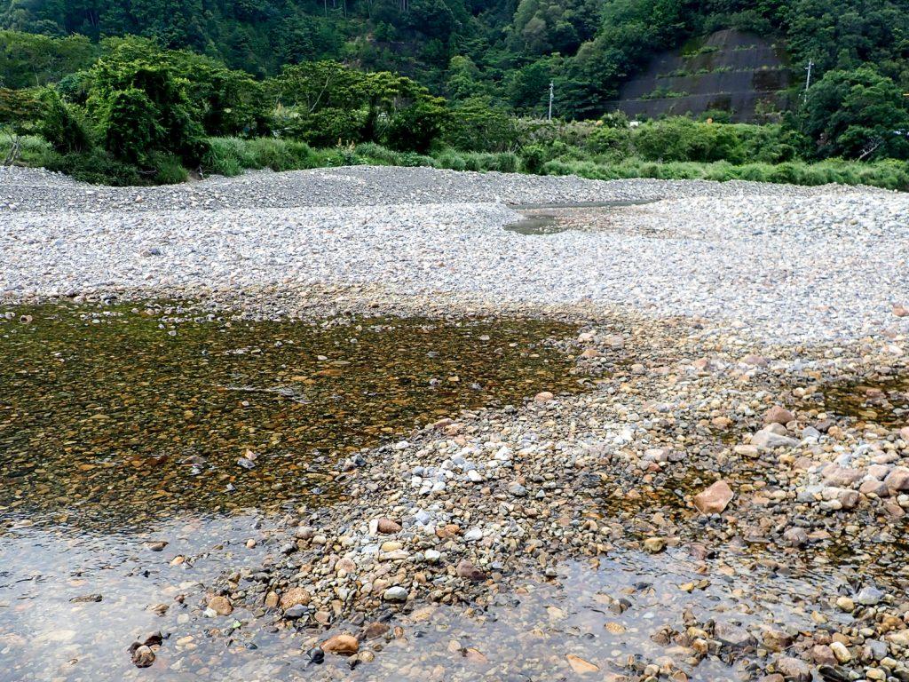 銚子川 伏流水1