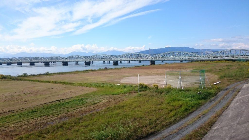 木曽川河川敷