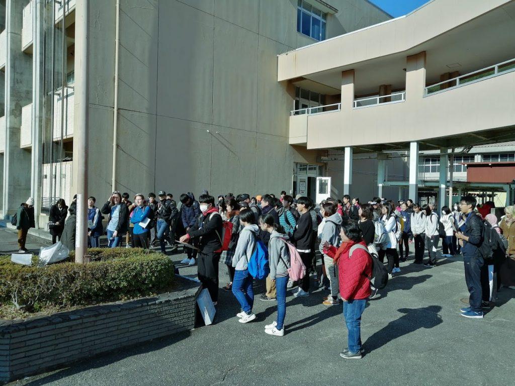 三重大学の留学生も多く参加していただき、とてもグローバルなイベントになった。