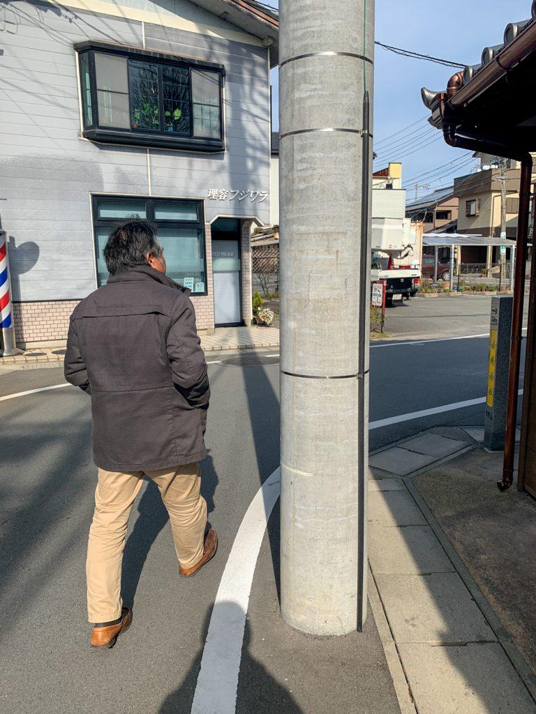 鳥羽市藤野郷で暮らす杉田さんとまち歩き まず向かう先