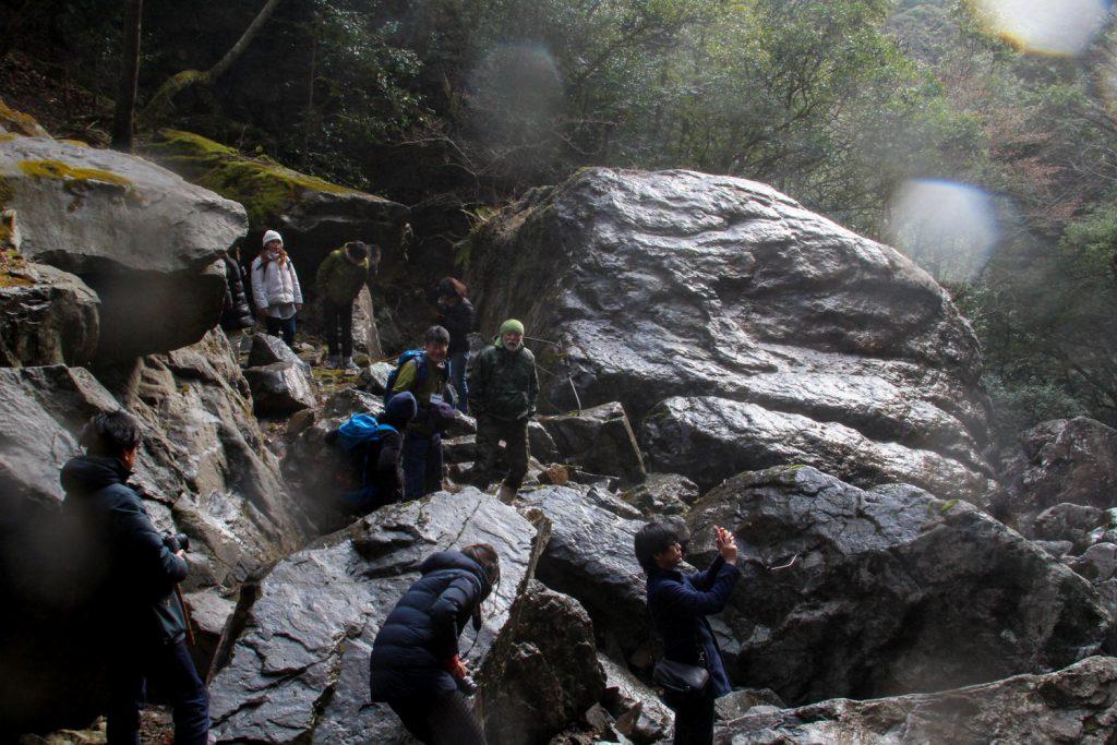 六十尋滝にブロガー集結