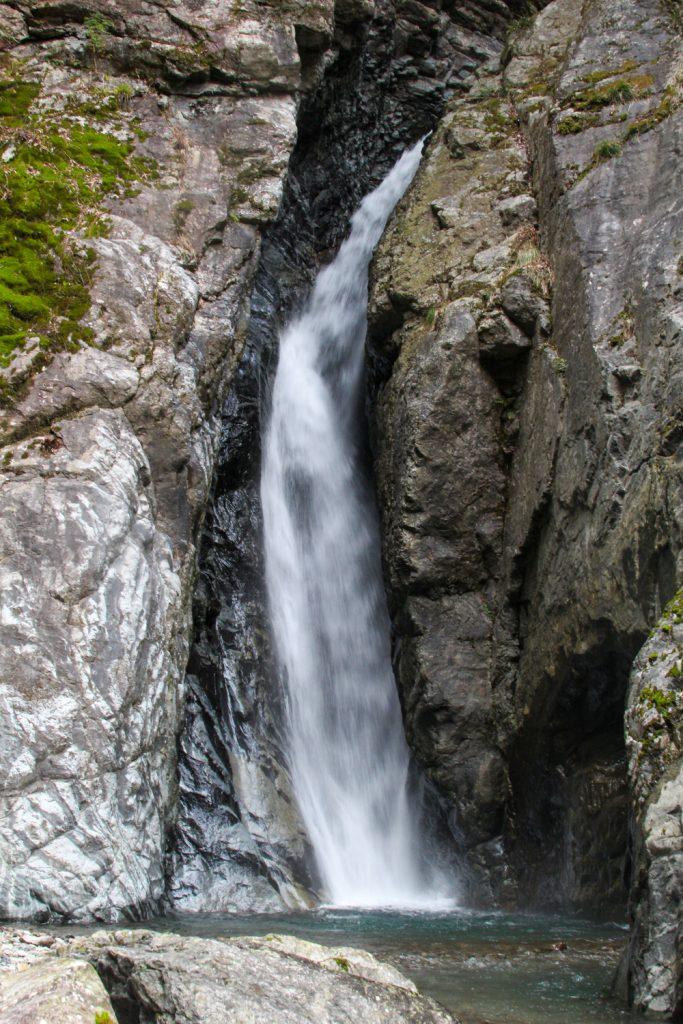 大杉谷には数多くの無名滝がある