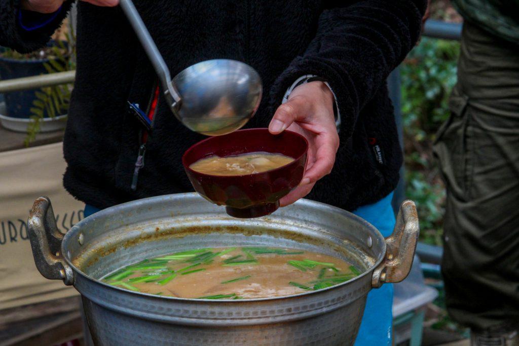仙人特製豚汁1
