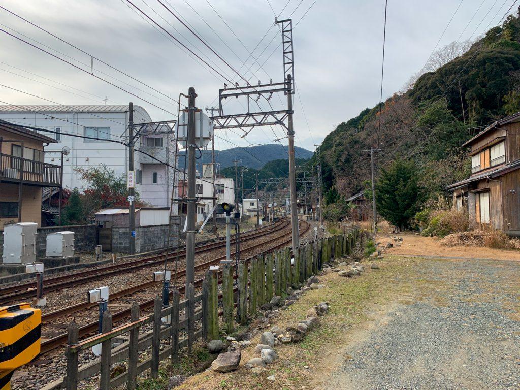 鳥羽市藤野郷で暮らす杉田さんとまち歩き 赤崎駅