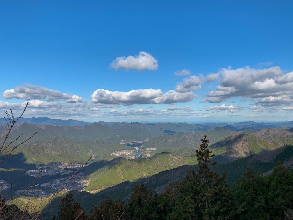 北総門山ハイキング 展望台2