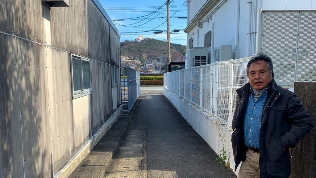 鳥羽市藤野郷で暮らす杉田さんとまち歩き 郵便局への道